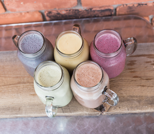 Fast & fresh smoothies